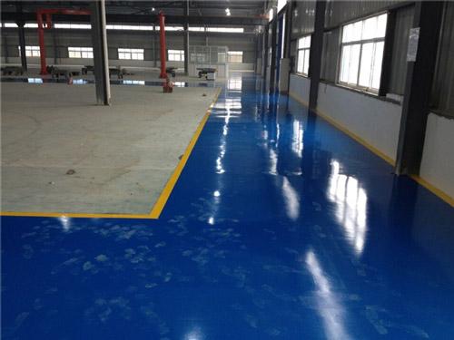 芜湖凯德机械制造厂房地坪